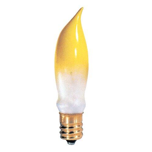 Bulbrite Industries Candelabra 7.5W Gold 130-Volt Incandescent Light Bulb