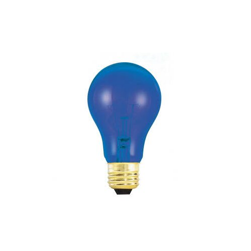 Bulbrite Industries 25W Blue 120-Volt Incandescent Light Bulb