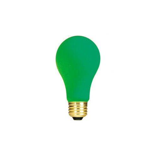 Bulbrite Industries Green 120-Volt Incandescent Light Bulb