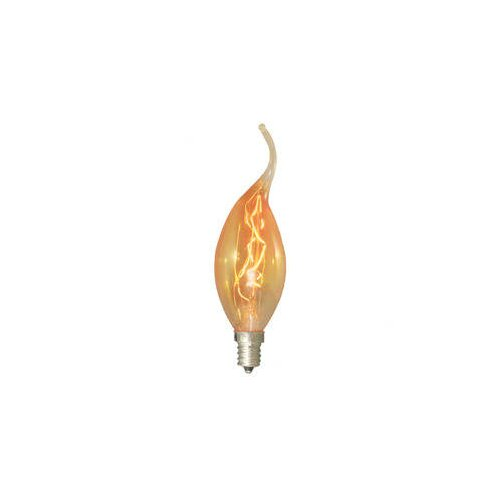 Bulbrite Industries 15W Amber 120-Volt Incandescent Light Bulb