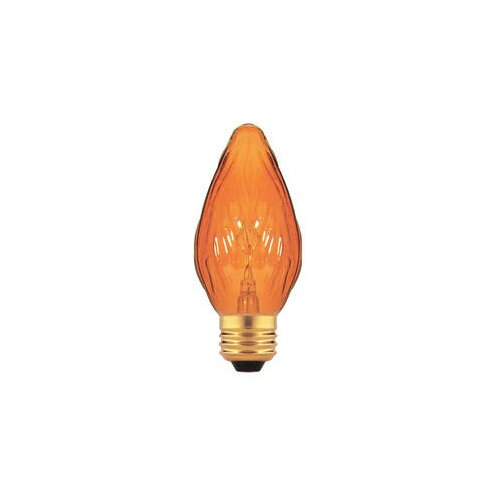 Bulbrite Industries Amber 130-Volt Incandescent Light Bulb