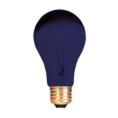 Bulbrite Industries 75W Black 120-Volt Incandescent Light Bulb