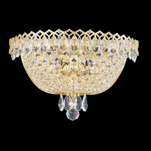 Schonbek Camelot 2 Light Flush Mount