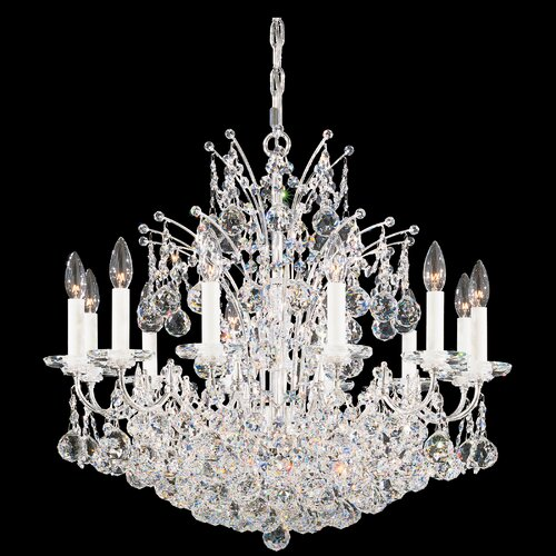 Schonbek Contessa 12 Light Chandelier