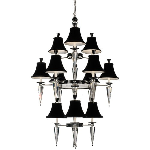 Schonbek Diva 12 Light Chandelier