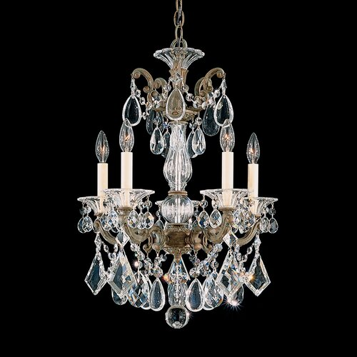 Schonbek La Scala 5 Light Chandelier