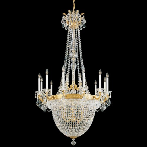 La Scala Empire 22 Light Chandelier