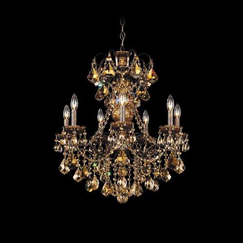 Schonbek Chandelier Wayfair: Schonbek New Orleans 7 Light Chandelier & Reviews