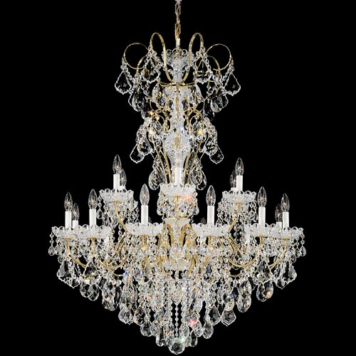 Schonbek New Orleans 18 Light Chandelier