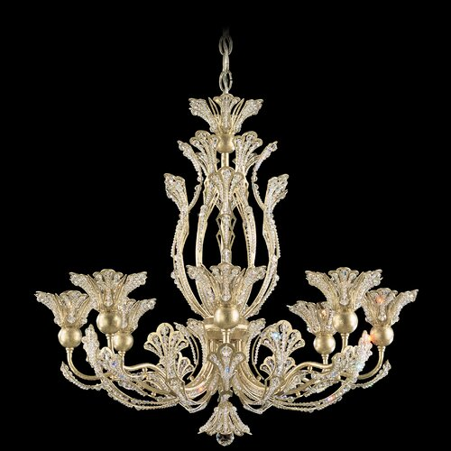 Schonbek Rivendell 8 Light Chandelier