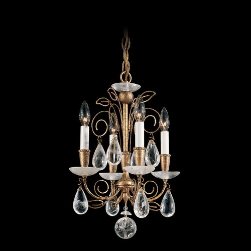 Schonbek Tesoro 4 Light Chandelier