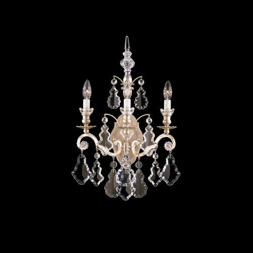 Schonbek Versailles Three Light Wall Sconce