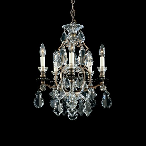 Versailles 5 Light Mini Chandelier
