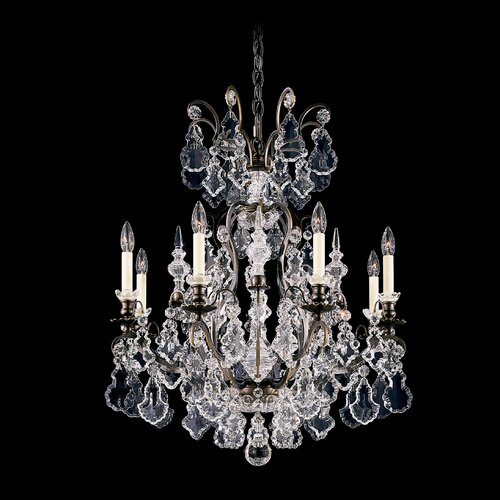 Schonbek Versailles 8 Light Chandelier