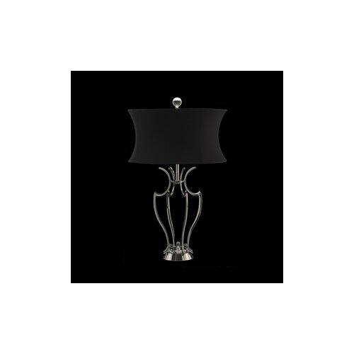 """Schonbek Fiona Cage Frame 26.5"""" H Table Lamp with Empire Shade"""