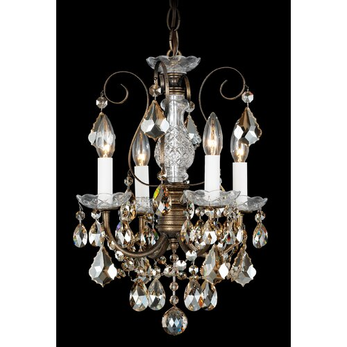 Schonbek New Orleans 4 Light Pendant