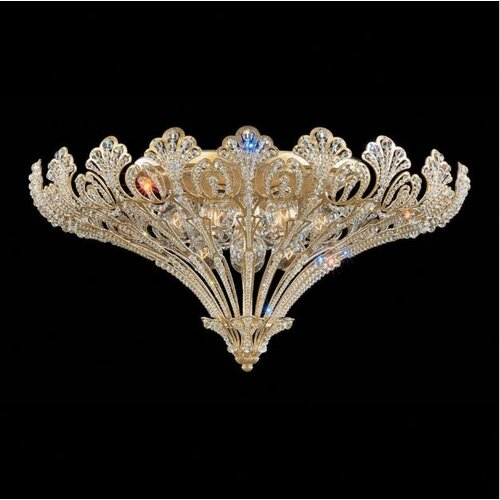 Schonbek Rivendell 12 Light Flush Mount