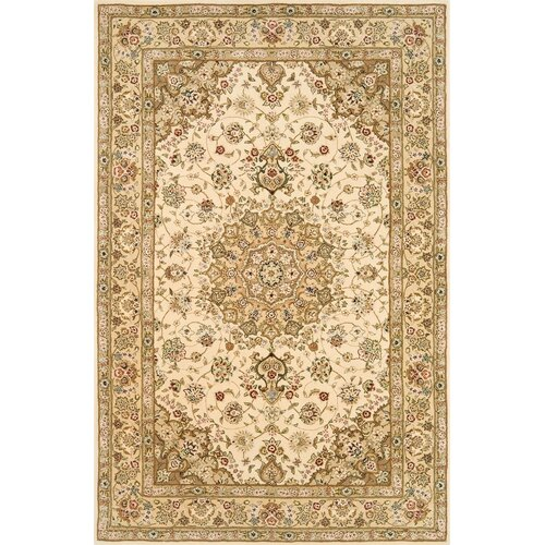 Continental Rug Company Silk Pearl Beige/Light Gold Rug
