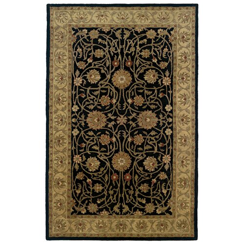 Meadow Breeze Black Border Rug
