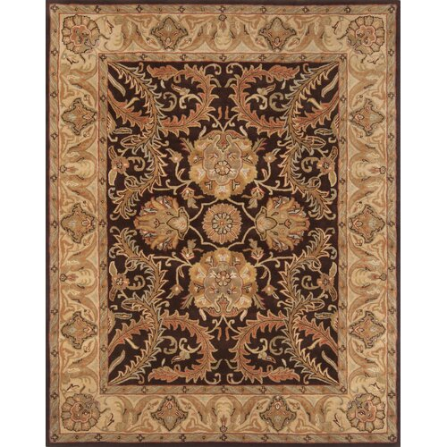 Pardis Brown/Light Gold Rug