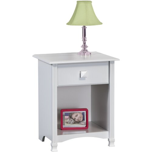 Ameriwood Industries 1 Drawer Nightstand