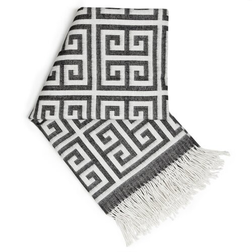 Jonathan Adler Greek Key Wool Throw