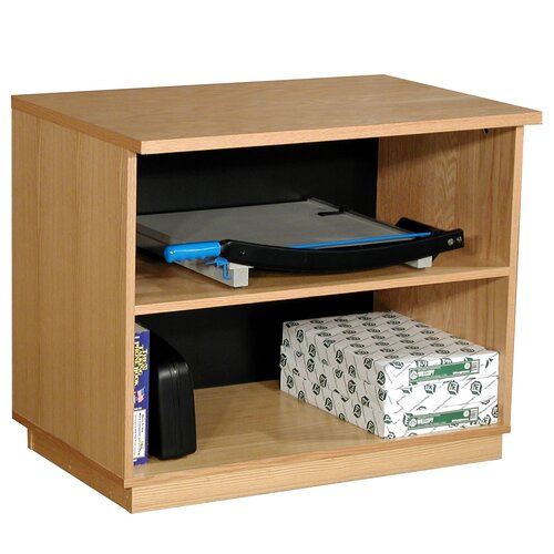 "Rush Furniture Modular Real Oak Wood Veneer Furniture 29.5"" Bookcase"