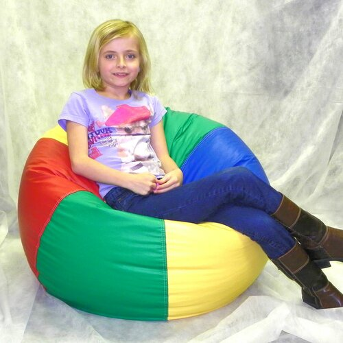 Rush Furniture Kidz Rule Rainbow Bean Bag Chair