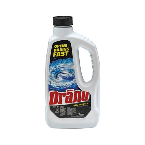 Drano® Liquid Drain Cleaner Unscented Bottle