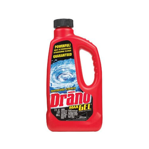 Drano® Max Gel Clog Remover Unscented Bottle