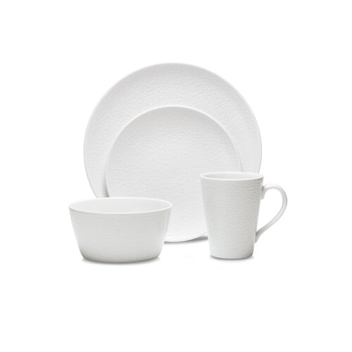 WoW Snow 4 Piece Place Setting