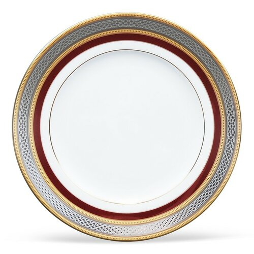 "Noritake Ruby Coronet 6.5"" Bread and Butter Plate"