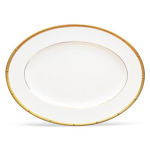 Noritake Rochelle Gold Oval Platter