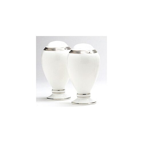 "Noritake Chatelaine Platinum 3 1/2"" Salt & Pepper Set"