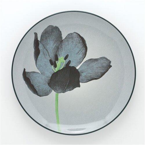 Noritake Colorwave Graphite 8.25 Tulip Salad Plate