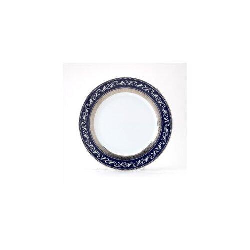 """Noritake Crestwood Cobalt Platinum 9"""" Accent Plate"""