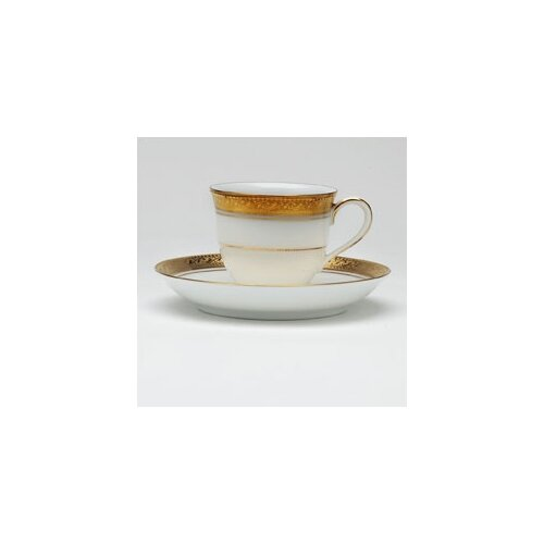 Noritake Crestwood Gold 3 oz. After Dinner Cup and Saucer