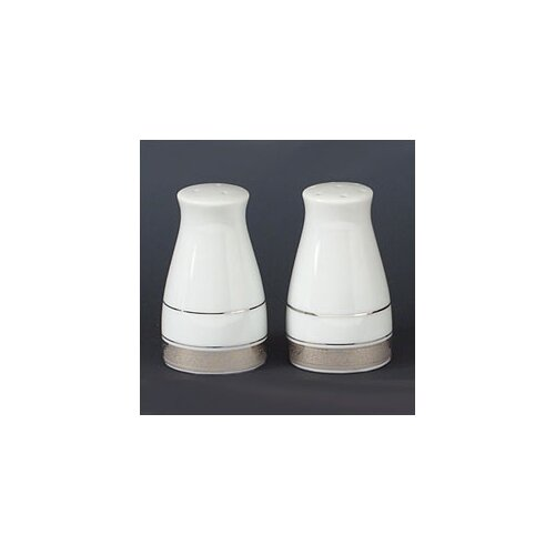 "Noritake Crestwood Platinum 3.25"" Salt & Pepper Shaker Set"