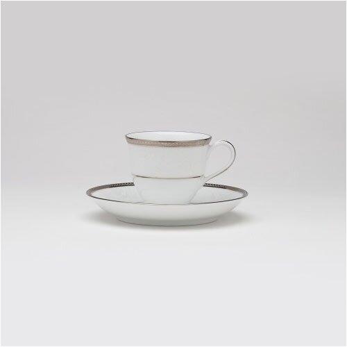 Noritake Regina Platinum After Dinner Cup and Saucer