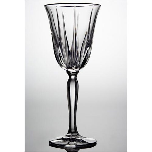 Noritake Vendome Clear White Wine Glass