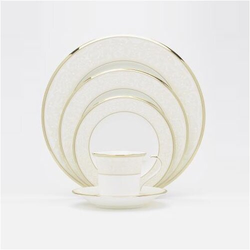 Noritake White Palace 5 Piece Place Setting