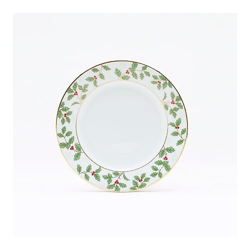 "Noritake Holly and Berry Gold 6.25"" Bread and Butter Plate"
