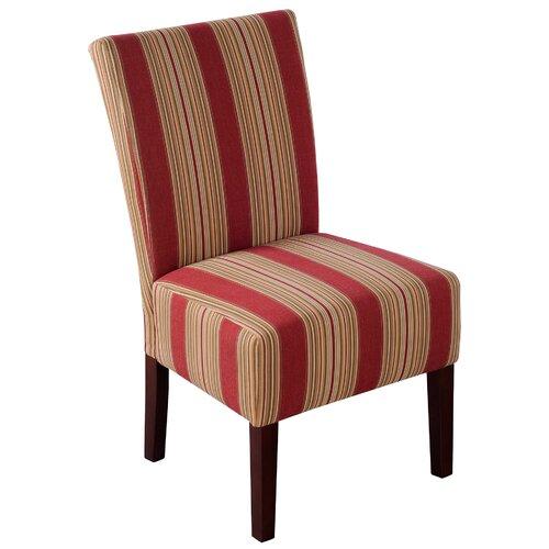 Handy Living Dunley Fabric Slipper Chair Reviews Wayfair