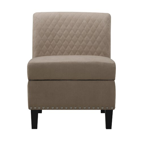Handy Living Wrigley Storage Side Chair