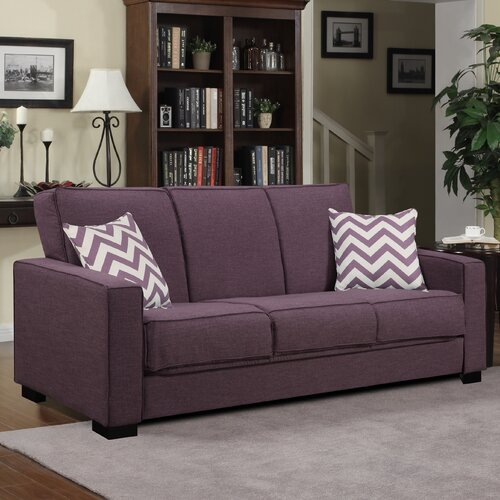 Handy Living Puebla Convert-a-Couch Convertible Sofa