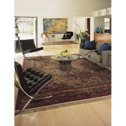 Karastan Karastan Multi Panel Kirman Rug Amp Reviews Wayfair