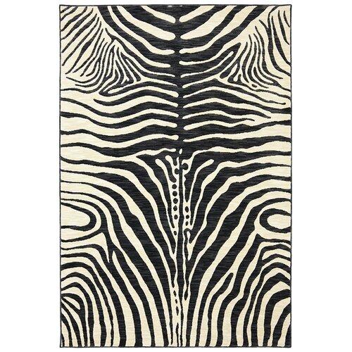 Panache Black Serengeti Gallery Rug