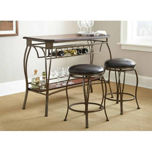 Greensboro 3 Piece Pub Table Set