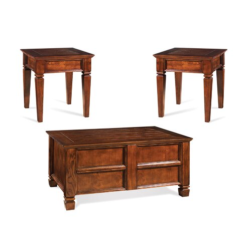Steve Silver Furniture Edgewood 3 Piece Coffee Table Set