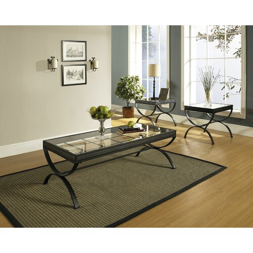 Steve Silver Furniture Emerson 3 Piece Coffee Table Set